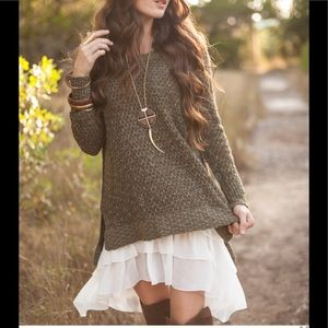 Dresses & Skirts - Chiffon Extender EUC!